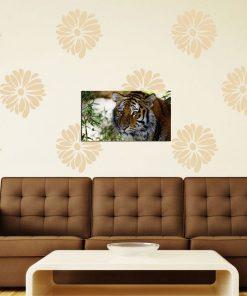 tiger image art wall display
