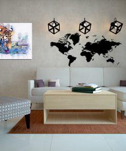 tiger art wall display