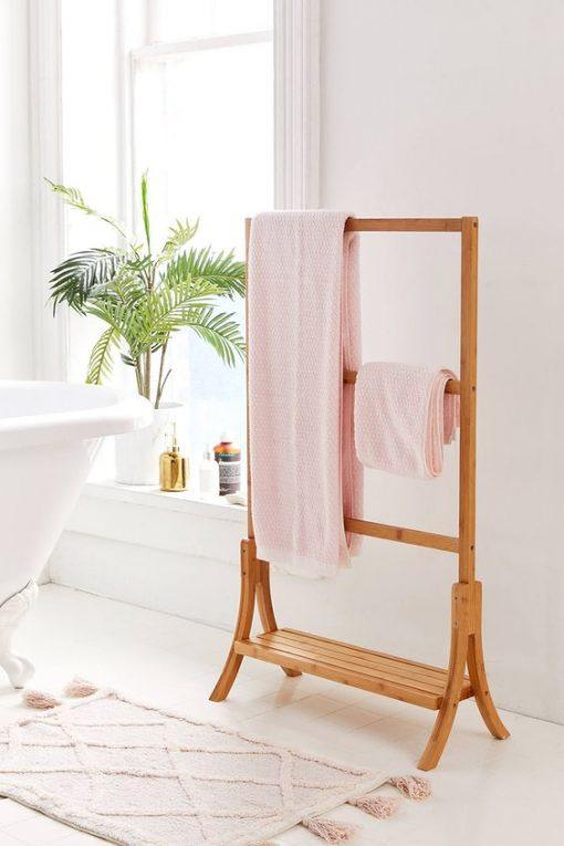 towel stand dry bathroom kitchen