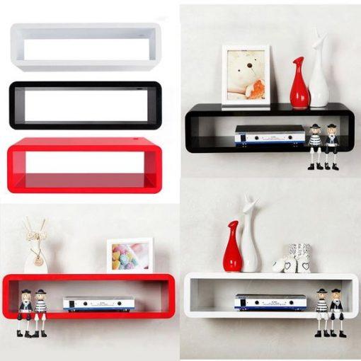All rectangular floating shelve
