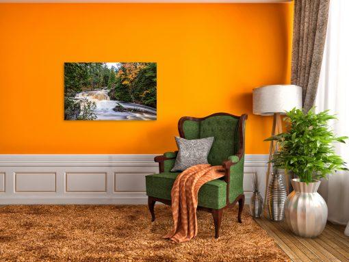 nature waterfall art and display
