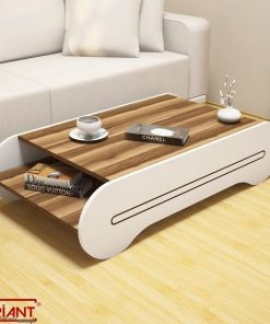 super cute centre table with white and brown
