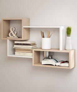 floating shelf shelve white