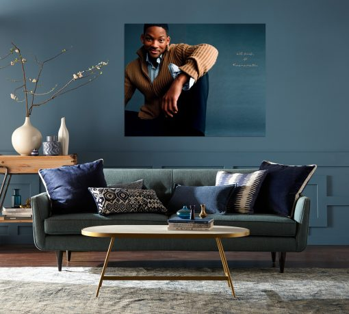 Will smith's picture art wall display