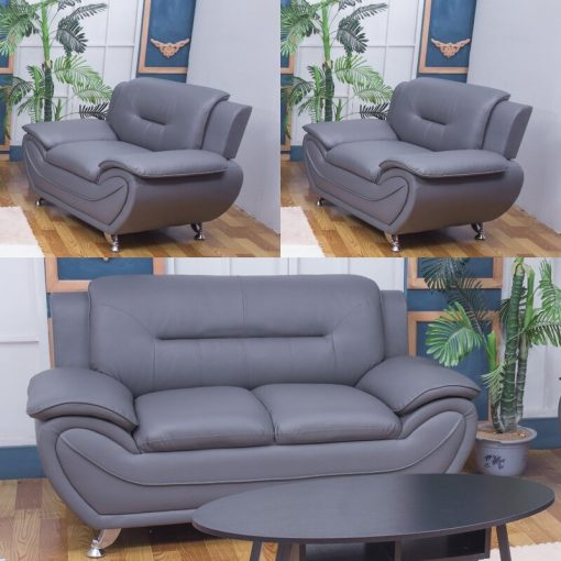 living room set sofa couch grey 3 in 1