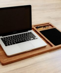 laptop holder with mouse pad