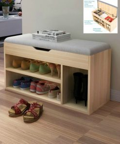 shoe rack with seat