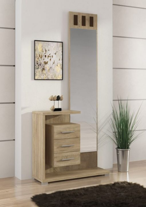 dressing mirror with drawers