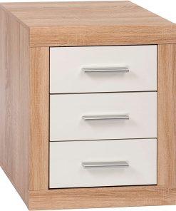bedside 3 drawer dresser cabinet