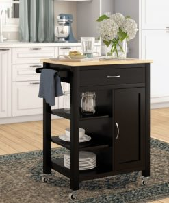kitchen cabinet cute all in one black