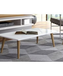 simple centre table white