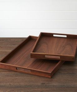 2 set pieces serving tray