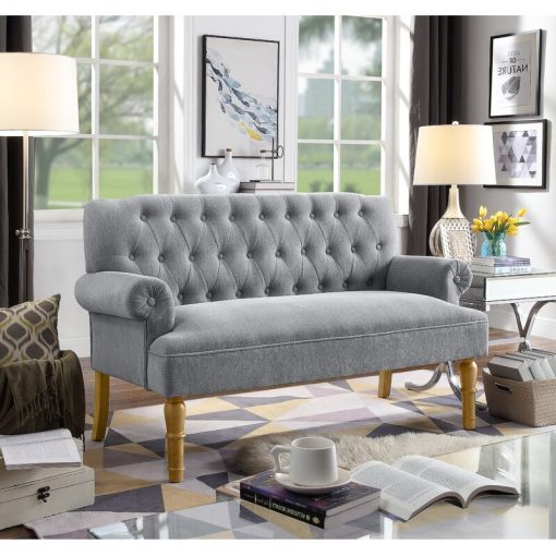 grey ash couch arm rest 3 seater