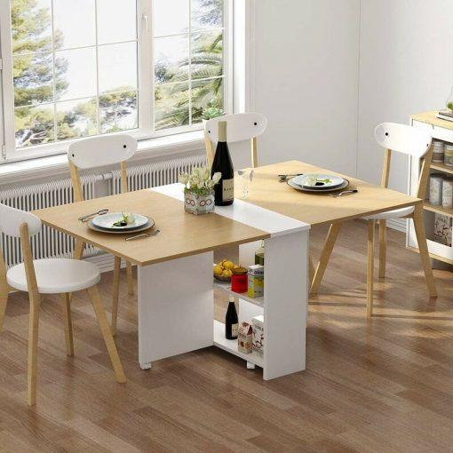 extensible expandable smart space saving desk kitchen, pc laptop computer desk outdoor desk