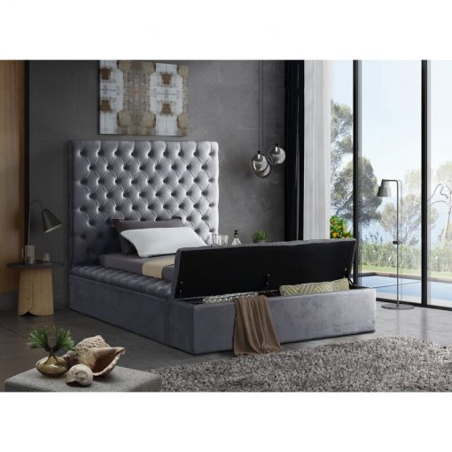 Black Blue Green Gray adult bed