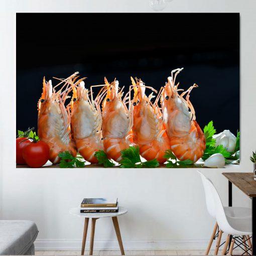 shrimbs kitchen wall art display