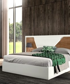 king size high gloss bed
