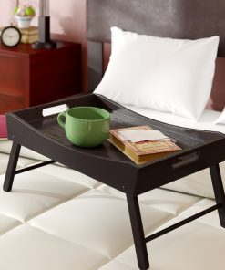 over bed serving tray