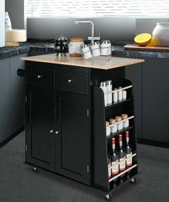Kitchen cart mini kitchen cabinet