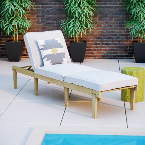 outdoor chair with cushion