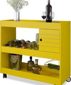 yellow wine library
