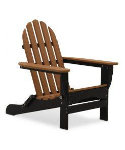 light brown black outdoor chair
