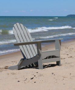 ash grey outdoor chair