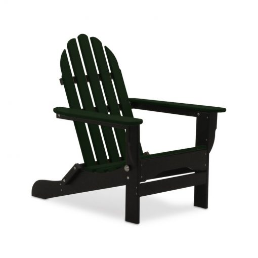forest green black outdoor chair