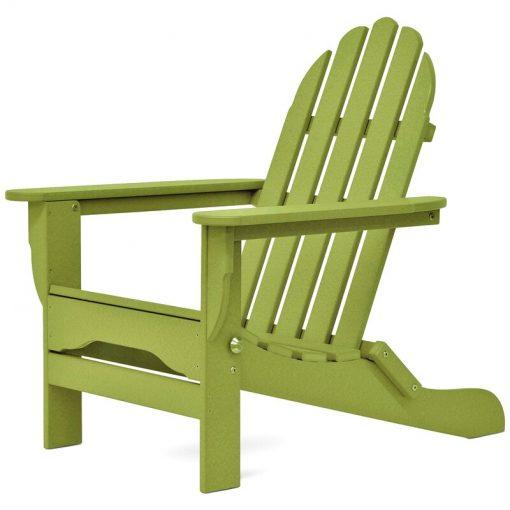 lemon green outdoor chair