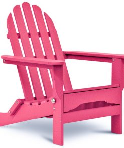 pink outdoor chair