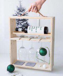 portable wine rack