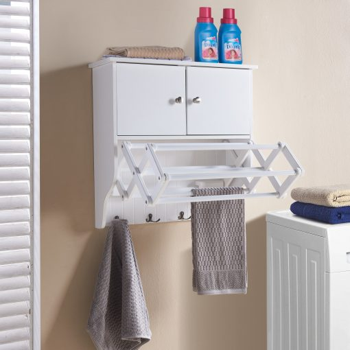 wall mounted dry line with storage
