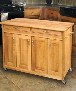 large space kitchen cart