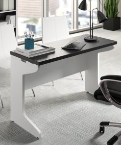 black and white office desk for small spaces and large space home office