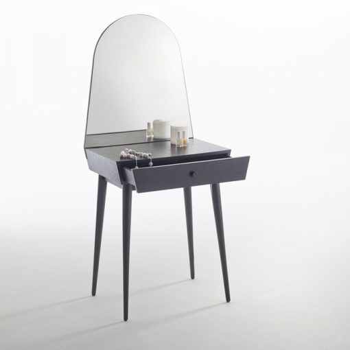 grey dressing mirror