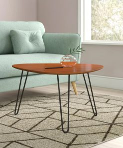 center table with metal legs