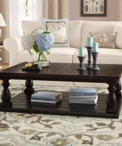 centre table black traditional