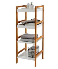 bathroom shelf for storage 4 tiers