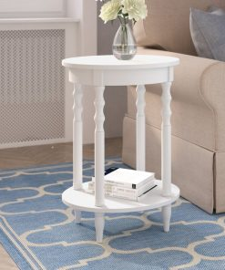 end table side table coffee table white blue black