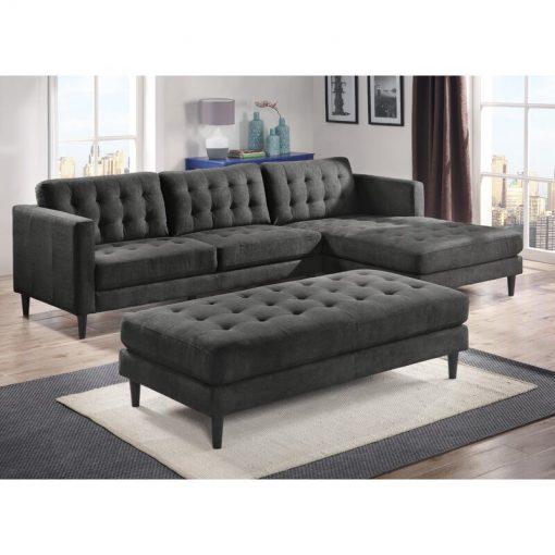 dark grey l shape sofa couch