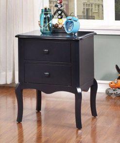 black nightstand