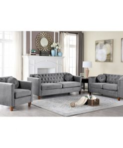 grey couch set family