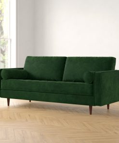 green 2 in 1 couch