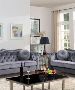 3+2 grey sofa