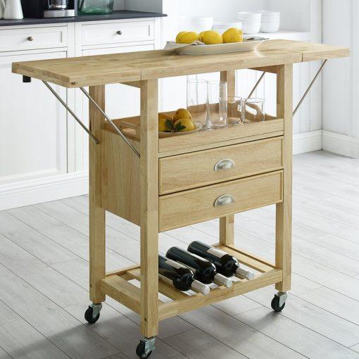 kitchen cart with storage