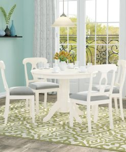 offwhite dining set 4 seater