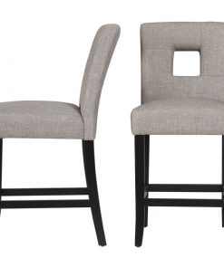 grey ash dining chair bar stool