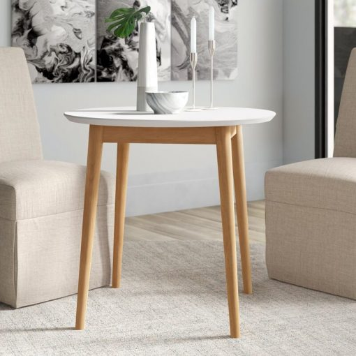 dining table white for small spaces