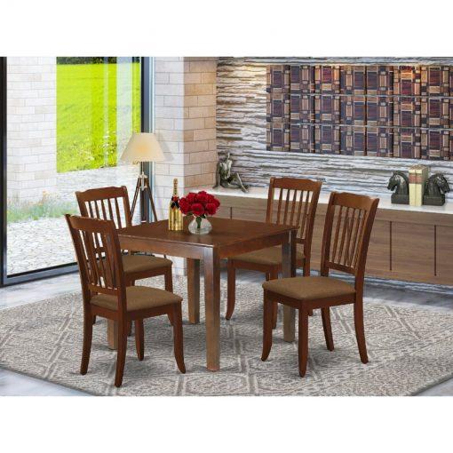 deep brown dining set