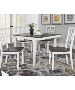 5 piece Dining Table set white